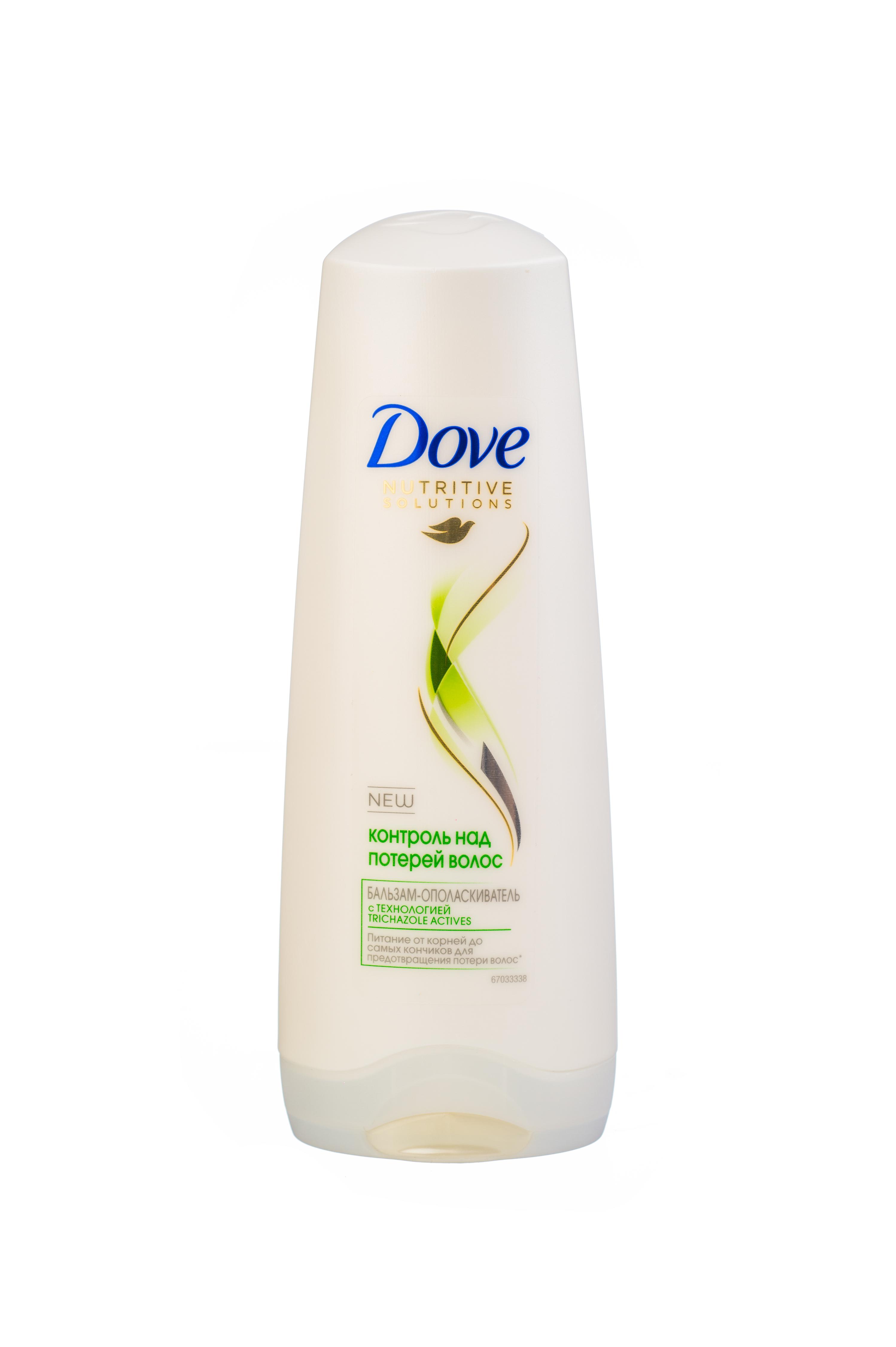 Dove Nutritive Solutions Бальзам-ополаскиватель Контроль над потерей волос 200 мл21075471Бальзам Dove Контроль над потерей волос мягко и бережно очищает хрупкие волосы, эффективно укрепляет их, помогая предотвратить ломкость. Увлажняющая Микро-сыворотка, входящая в состав бальзама-ополаскивателя, разглаживает поврежденную поверхность волоса, помогая восстановить и укрепить ослабленные ломкие волосы от корней до кончиков, уменьшая потерю волос на 98%.Наслаждайтесь красотой сильных волос, устойчивых к повреждениям и выпадению из-за ломкости. Товар сертифицирован.