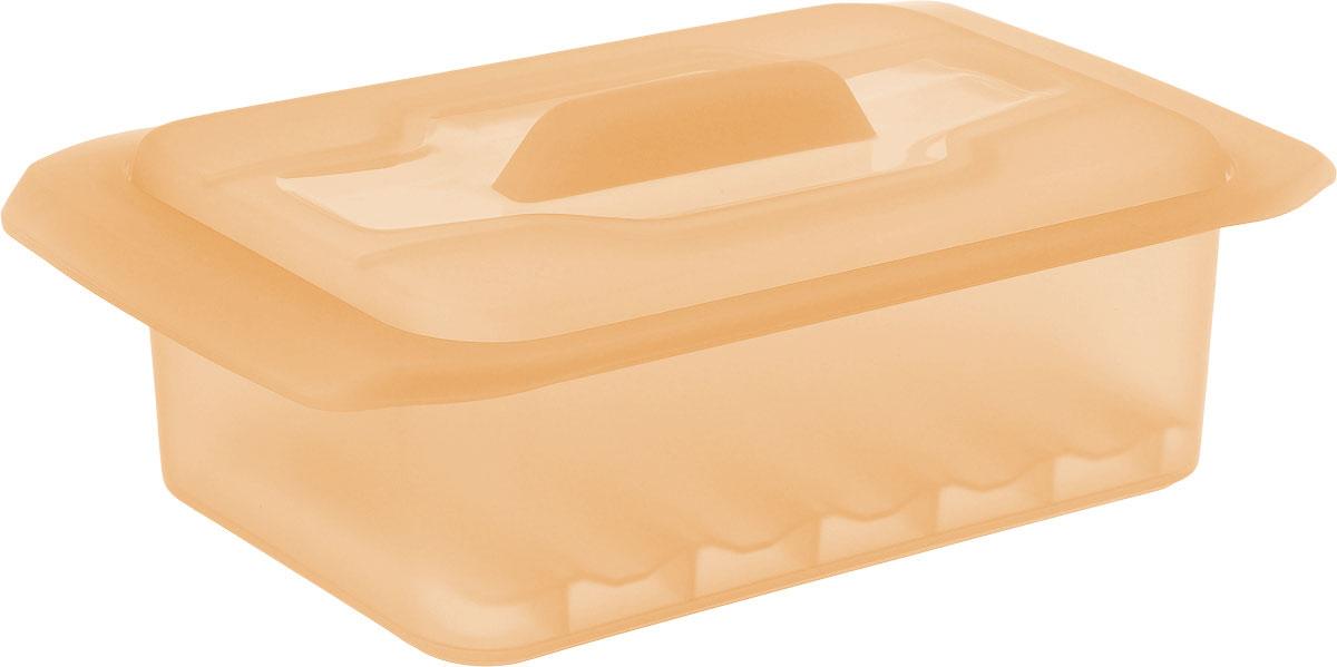 Контейнер-пароварка Tescoma Fusion Diet Revolution, силиконовый, цвет: оранжевый, 18 x 10 см. 638332115510Уникальная силиконовая пароварка с внутренней подставкой-решеткой и крышкой.Предназначена для приготовления низкокалорийных блюд на пару и в духовке.При приготовлении в посуде Fusion Diet Revolution внутри контейнеров создается интенсивный микроклимат, который придает блюдам ряд уникальных особенностей.Все предметы изготовлены из термостойкого силикона, выдерживают температуру до 230°С.Подходит для всех типов печей, в том числе микроволновой печи, а также для холодильника и морозильной камеры.Можно мыть в посудомоечной машине.В комплект входит книга с рецептами диетического питания. Размер контейнера: 18 x 10 см. Высота стенки контейнера: 6 см.
