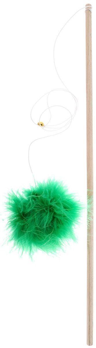 Игрушка для кошек Zoobaloo Удочка. Меховой мячик, длина 1 м0120710Игрушка для кошек Zoobaloo Удочка. Меховой мячик выполнена из бамбукового стержня с подвешенным на резинке меховым мячиком. Звук колокольчика привлечет внимание вашего питомца. Дразнилка превосходно развивает охотничьи инстинкты вашей кошки, а также развивает моторику передних лап и когтей.Такая игрушка порадует вашего любимца, а вам доставит массу приятных эмоций, ведь наблюдать за игрой всегда интересно и приятно.Длина стержня: 44,5 см.Общая длина игрушки: 1 м.УВАЖАЕМЫЕ КЛИЕНТЫ! Обращаем ваше внимание на возможные изменения в цветовом дизайне, связанные с ассортиментом продукции. Поставка осуществляется в зависимости от наличия на складе.