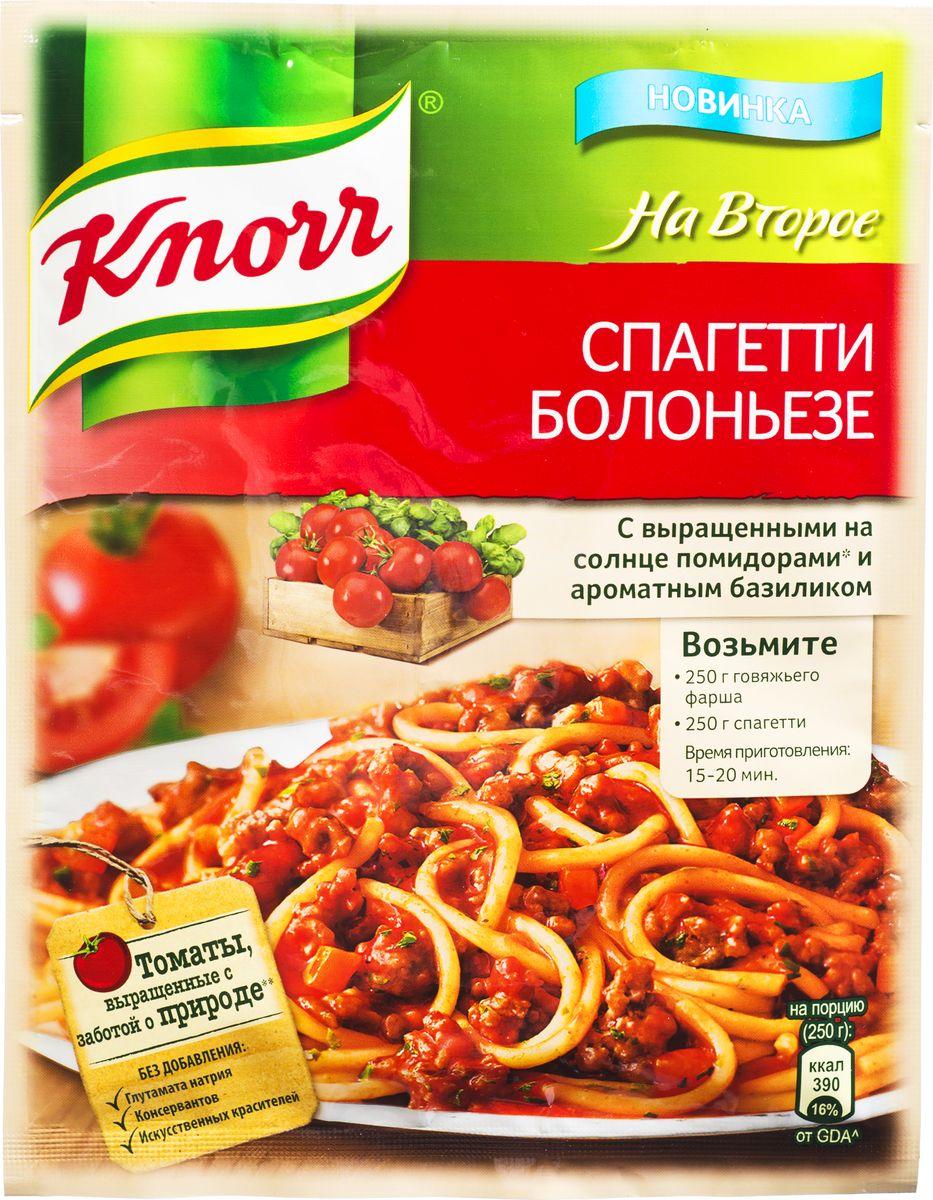Knorr Приправа На второе Спагетти болоньезе, 25 г67024601Познакомьтесь с приправой для приготовления самого известного блюда Италии – пасты Болоньезе. Идеальные пропорции настоящих овощей и средиземноморских трав помогут вам за 30 минут приготовить роскошный итальянский ужин! Уважаемые клиенты! Обращаем ваше внимание, что полный перечень состава продукта представлен на дополнительном изображении.