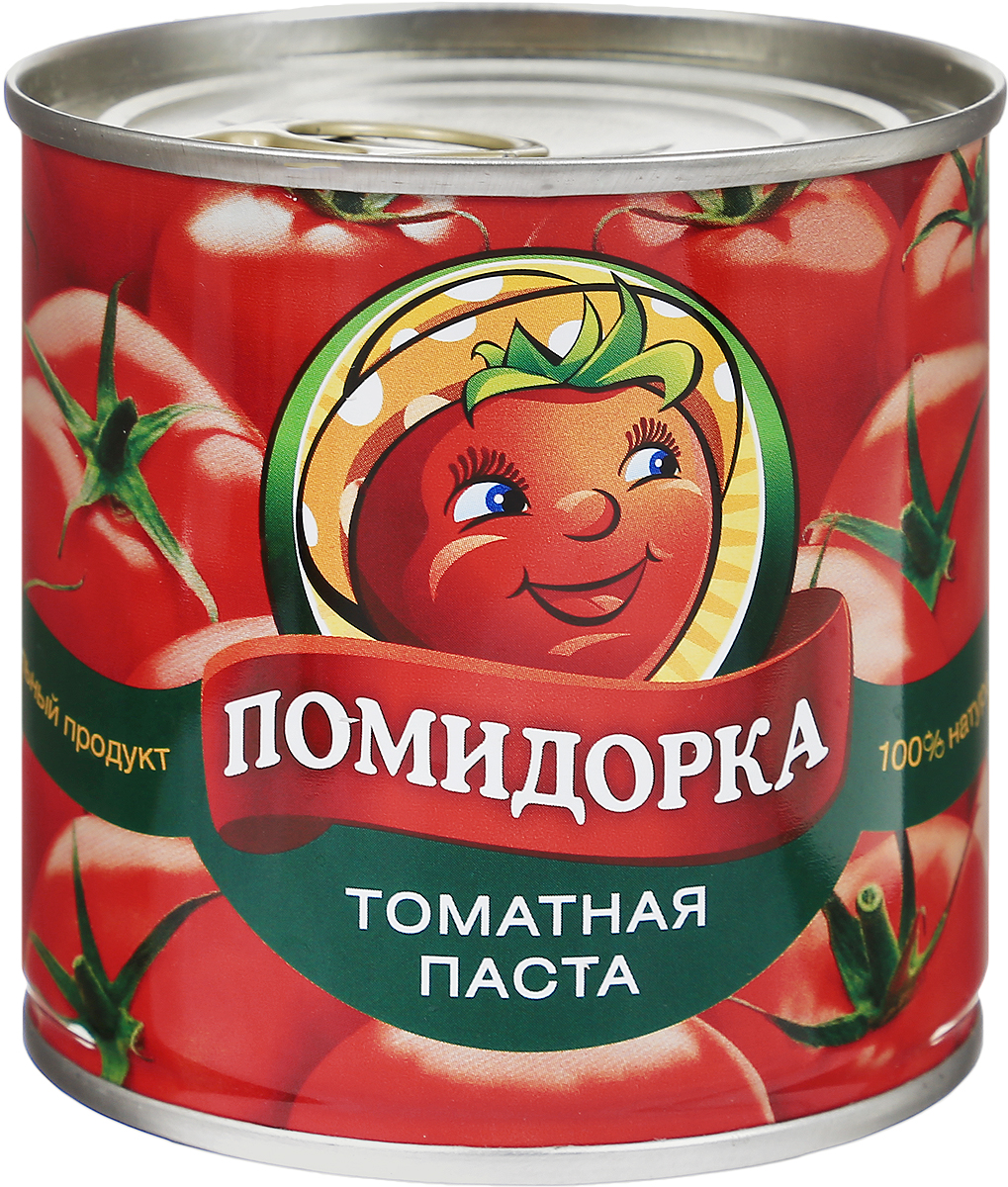 Помидорка Томатная паста, 250 г0120710Томатная паста Помидорка - гармоничный продукт с оригинальным свежим вкусом, насыщенным цветом и ароматом.В ней отсутствуют искусственные пищевые добавки - это полностью натуральный продукт. Томатная паста Помидорка очень густая (содержит более 25-28% сухих веществ) и приготовлена только из помидоров.