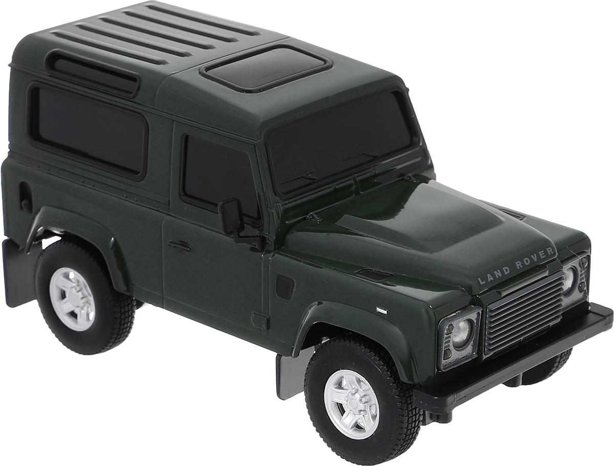 Welly Радиоуправляемая модель Land Rover Defender цвет темно-зеленый