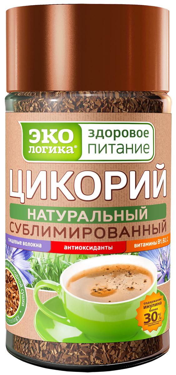 Экологика цикорий сублимированный в банке, 85 г4620014779042В России появился уникальный инновационный продукт, не имеющий аналогов в мире - сублимированный цикорий «Экологика - здоровое питание»!Разработанная компанией Экологика технология сублимации цикория позволяет исключить воздействие высоких температур при производстве. Поэтому вкус, аромат, все витамины, микроэлементы и пищевые волокна в сублимированном цикории «Экологика - здоровое питание» сохраняются в полном объёме.Полезные свойства сублимированного цикория:улучшает пищеварение;нормализует работу поджелудочной железы;снижает гликемический индекс;успокаивает нервную систему;способствует лучшему движению крови;помогает работе сердца;способствует выведению холестерина из организма;снижает вредные отложения солей в организме;растворяет и выводит желчные камни;помогает избавиться от бессонницы;улучшает работу глазных мышц;укрепляет иммунитет;не имеет противопоказаний.