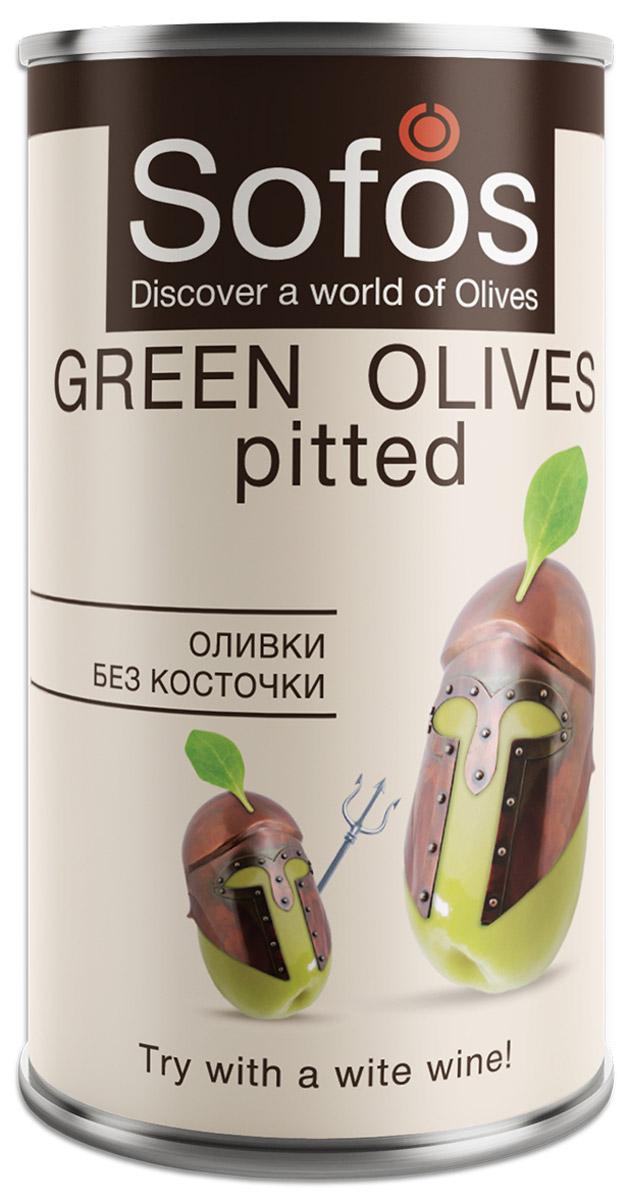 Sofos оливки без косточки, 300 мл