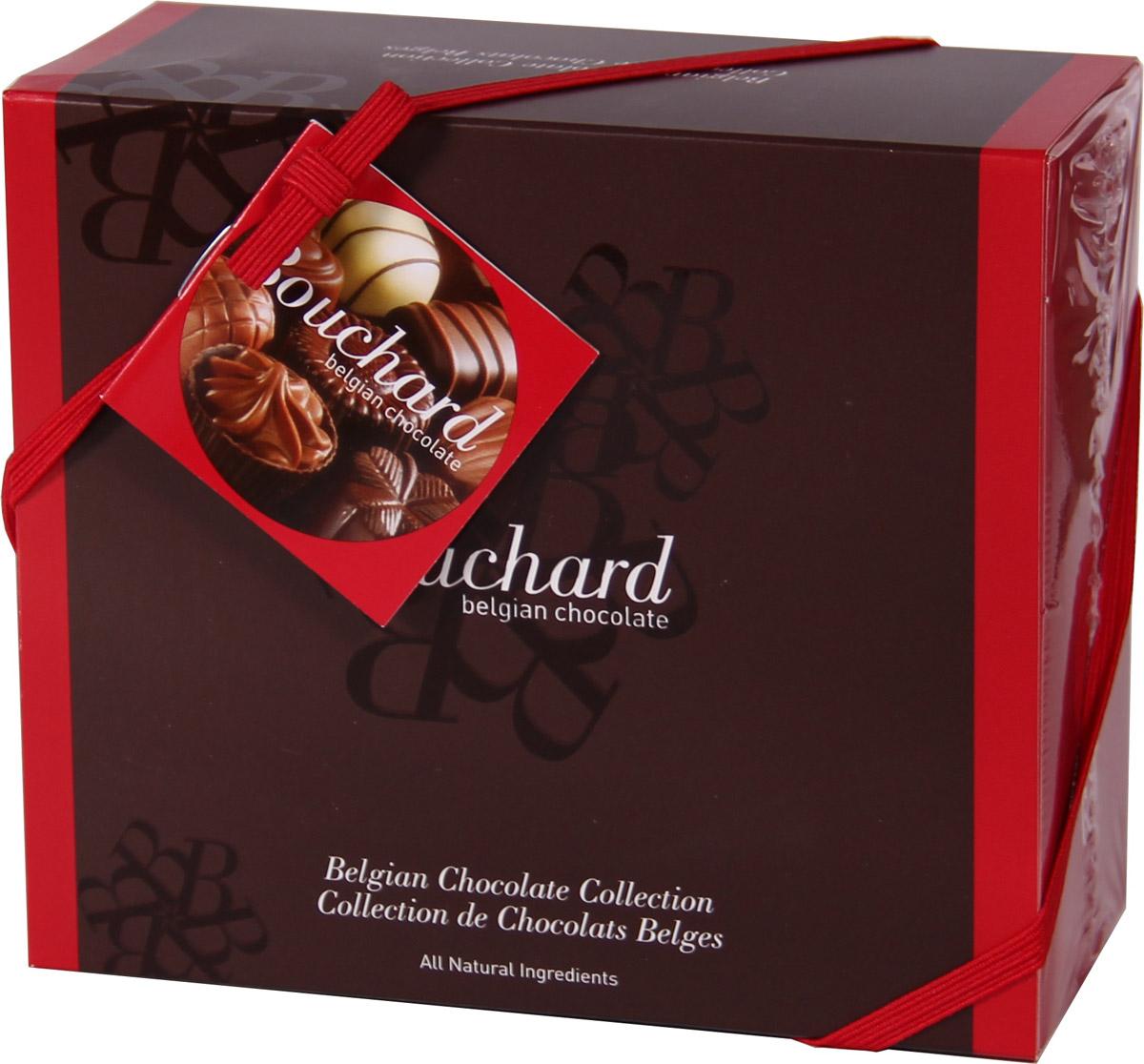 Bouchard Ассорти Премиум Бельгийская Шоколадная коллекция, 250 г0120710Восхитительные бельгийские шоколадные конфеты BOUCHARD L'ESCAUT Ассорти Премиум произведут впечатление на самого разборчивого знатока шоколада.Конфеты Bouchard наполнены нежнейшим кремом с добавлением миндаля и фундука. Покрыты изысканным бельгийским шоколадом. Отличаются ароматом ванили и насыщенным вкусом с притягательной терпкостью.Бельгийцы - непревзойденные мастера в приготовлении шоколада - считают это лакомство лучшим подарком. Нежный, буквально тающий во рту, он доставит удовольствие всем любителям сладкого.