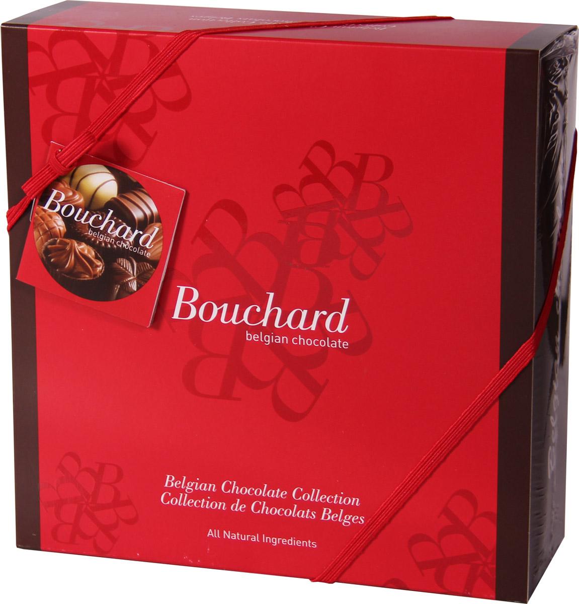 Bouchard Ассорти Премиум Бельгийская Шоколадная коллекция, 500 г0120710Восхитительные бельгийские шоколадные конфеты BOUCHARD L'ESCAUT Ассорти Премиум произведут впечатление на самого разборчивого знатока шоколада.Конфеты Bouchard наполнены нежнейшим кремом с добавлением миндаля и фундука. Покрыты изысканным бельгийским шоколадом. Отличаются ароматом ванили и насыщенным вкусом с притягательной терпкостью.Бельгийцы - непревзойденные мастера в приготовлении шоколада - считают это лакомство лучшим подарком. Нежный, буквально тающий во рту, он доставит удовольствие всем любителям сладкого.