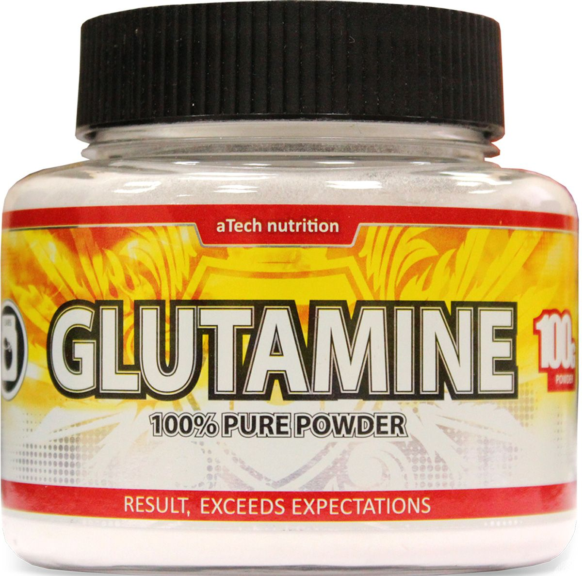 Глютамин aTech Nutrition  Glutamine Pure Powder 100% , 100 г - Аминокислоты