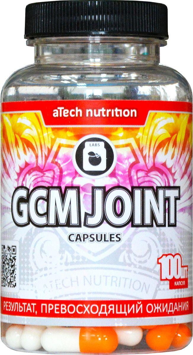 Пищевая добавка aTech Nutrition Glucosamine + Chondroitine + MCM, 100 капсул4630019671395GCM JOINT Caps - это хондропротектор третьего поколения, выпускаемый в форме капсул компанией aTech nutrition. По составу капсульный и таблетированный хондропротекторы практически идентичны.Данный препарат разработан не только для атлетов, но и для людей, ведущих активный образ жизни. Разработанный продукт отлично подходит для предупреждения любых негативных преобразований в связках и суставах, в том числе, развитие и профилактика остеоартрита. GCM JOINT Caps от aTech nutrition содержит все необходимые для этого элементы:-хондроитин сульфат - осуществляет питание и ускоренную регенерацию хрящевой ткани, обеспечивает скольжение суставных поверхностей, устраняет боли в суставах;-глюкозамин сульфат - укрепляет соединительную ткань, делая ее более прочной и устойчивой к растяжению, укрепляет связки, сухожилия, кости, укрепляет иммунную систему организма;-метилсульфонилметан (MSM) - устраняет болевые ощущения и подавляет воспалительные процессы;- кальций - входит в состав костей и хрящевой ткани, ускоряет их регенерацию, помогает работе сердца.Применение: по 2 капсулы 3 раза в день между приемами пищи, запивая водой. Для получения стойкого эффекта рекомендовано принимать курсами от 6 до 12 недель. Курсы можно повторять с интервалом 2 месяца.Состав: глюкозамин сульфат, хондроитин сульфат, метилсульфонилметан, кальция глюконат.Товар не является лекарственным средством.Товар не рекомендован для лиц младше 18 лет.Могут быть противопоказания и следует предварительно проконсультироваться со специалистом.