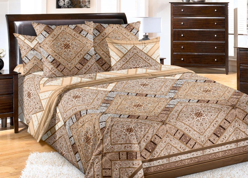 Комплект белья Primavera Песок, 2-спальный, наволочки 70x70 primavera