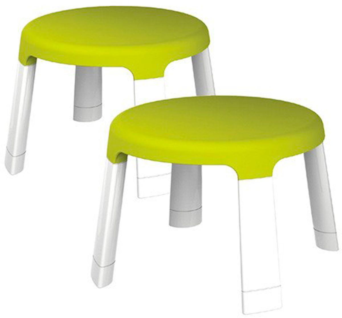 Oribel Табуретка для развивающего столика 2 штCY303-90006Комплект из 2х стульчиков, специально разработанных для детей. Максимальный вес: 35 кг