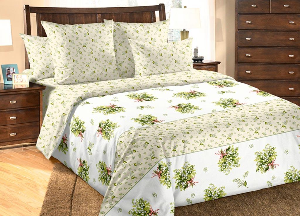 Комплект белья Primavera Букет ландышей, 1,5-спальный, наволочки 70x7086755Комплект постельного белья Primavera Букет ландышей является экологически безопасным для всей семьи, так как выполнен из высококачественного хлопка. Комплект состоит из пододеяльника на молнии, простыни и двух наволочек. Постельное белье оформлено ярким цветочным рисунком и имеет изысканный внешний вид. Постельное белье из хлопка превращает жаркие летние ночи в прохладные и освежающие, а холодные зимние - в теплые и согревающие. Приобретая комплект постельного белья Primavera Букет ландышей, вы можете быть уверенны в том, что покупка доставит вам и вашим близким удовольствие и подарит максимальный комфорт.