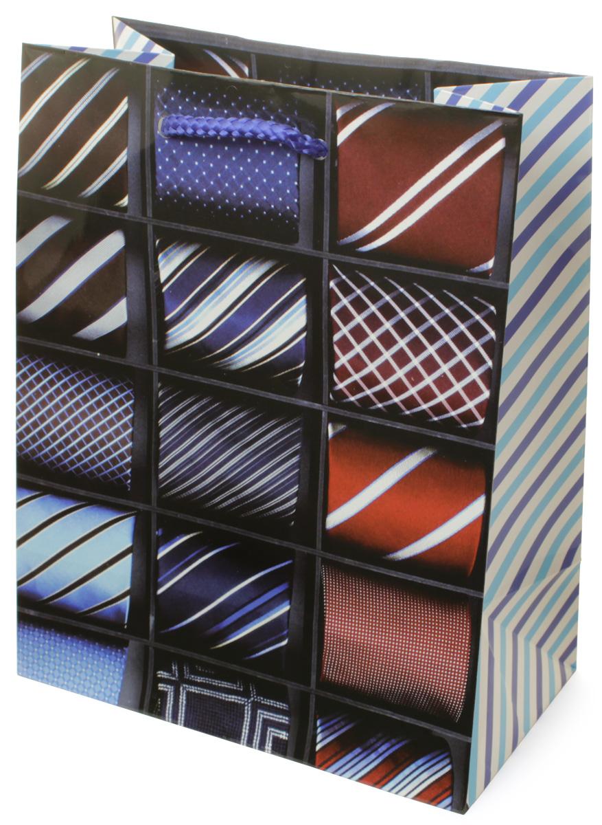 Пакет подарочный МегаМАГ Галстуки, 18 х 22,7 х 10 см. H2. 2175 MC0042416Пакет подарочный ламинированный. Ручки-шнурки.Размер: 18 х 22,7 х10 см.