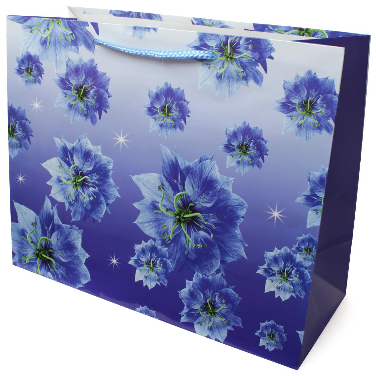 Пакет подарочный МегаМАГ Цветы, 32,7 х 26,4 х 13,6 см. 814 LH2163020-10Подарочный пакет МегаМАГ, изготовленный из плотной ламинированной бумаги, станет незаменимым дополнением к выбранному подарку. Для удобной переноски на пакете имеются ручки-шнурки.Подарок, преподнесенный в оригинальной упаковке, всегда будет самым эффектным и запоминающимся. Окружите близких людей вниманием и заботой, вручив презент в нарядном, праздничном оформлении.