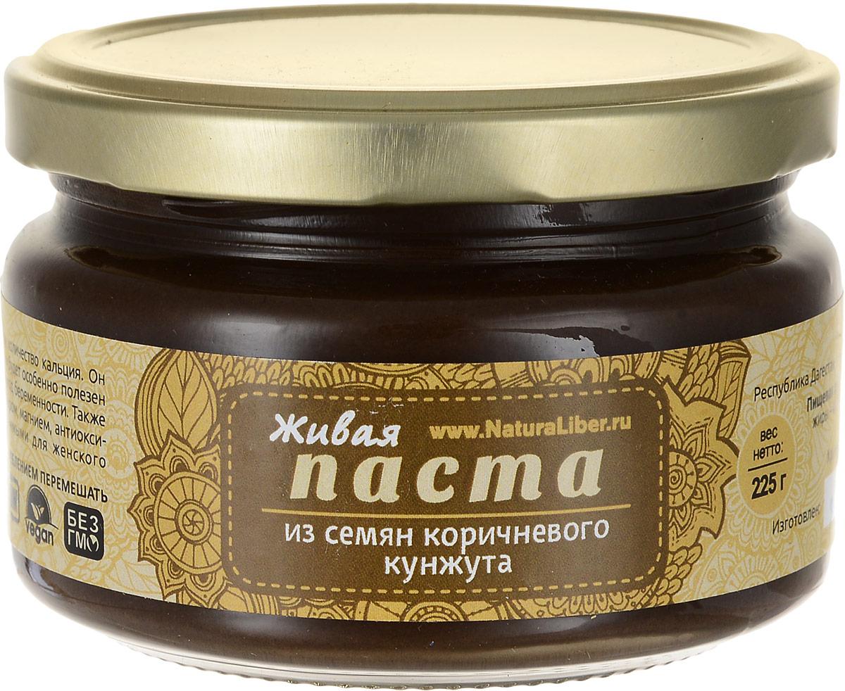 NaturaLiber паста из семян коричневого кунжута, 225 г0120710Кунжут - абсолютный чемпион по содержанию кальция, благодаря чему он прекрасно укрепляет кости, волосы и зубы. В его состав входит вещество фитин, которое способствует восстановлению минерального баланса организма. Кунжут содержит большое количество витамина Е - известного витамина молодости. Вещество тиамин нормализует обмен веществ и благотворно влияет на нервную систему. Кроме того, кунжут - основной источник извести в организме, а входящий в его состав витамин РР благотворно влияет на пищеварительную систему. Также кунжут - отличный помощник в борьбе с бронхиальной астмой и другими легочными заболеваниями. Кунжут полезно будет включить в рацион питания детей, беременных женщин и кормящих матерей, так как содержащиеся в нем фосфор и фитоэстрагены служат основой для укрепления костных тканей. Фитоэстроген к тому же является незаменимым помощником женскому здоровью.