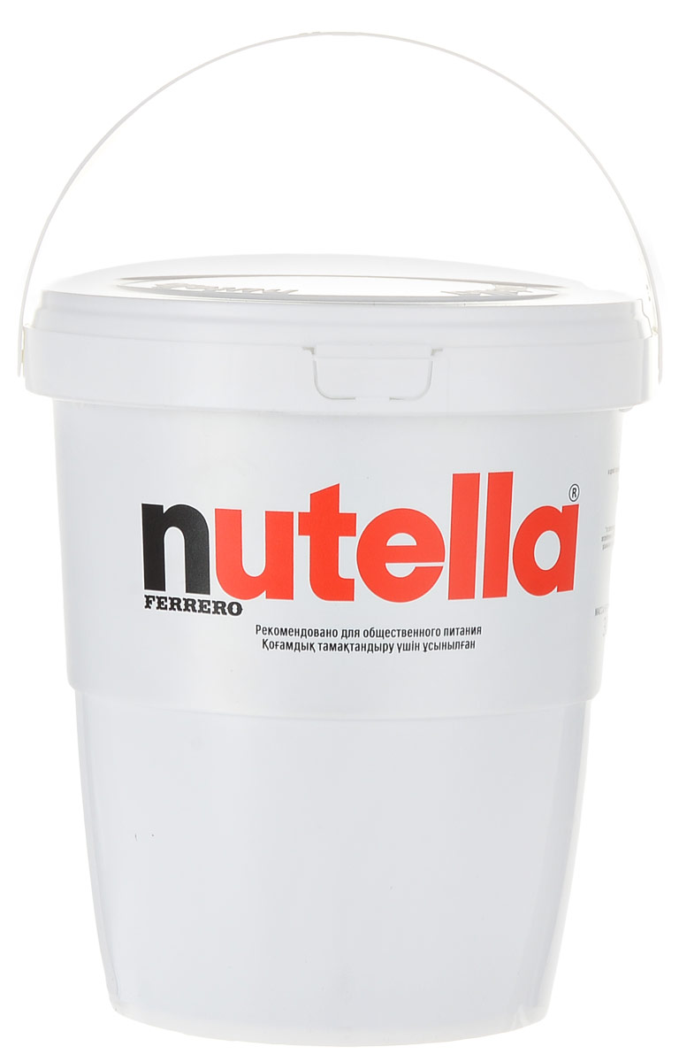 Nutella паста ореховая с добавлением какао, 3 кгХР77130332/77119301Nutella обладает неповторимым вкусом лесных орехов и какао, а ее нежная кремовая текстура делает вкус еще интенсивнее. Секрет уникального вкуса в особенном рецепте, отборных ингредиентах и тщательном приготовлении.Сегодня Nutella является одной из самых узнаваемых и любимых марок в мире, продуктом, продажи которого составляют треть годового оборота компании Ferrero. Хороший день начинается с Nutella!Уважаемые клиенты! Обращаем ваше внимание, что полный перечень состава продукта представлен на дополнительном изображении.