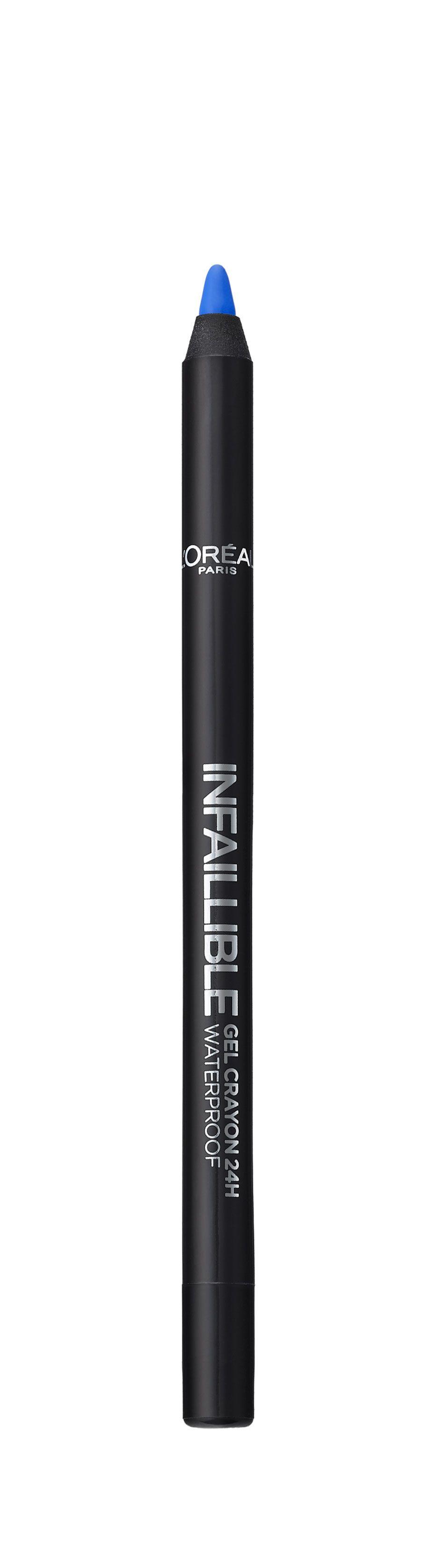 LOreal Paris Стойкий гелевый карандаш для глаз Infaillible, Оттенок 10, Попала на синий26102025Насыщенные пигменты и гелевая основа карандаша способствуют точному нанесению и устойчивому водостойкому результату на 24 часа. Множество оттенков – от базовых до самых ярких – для разнообразных вариантов макияжа.