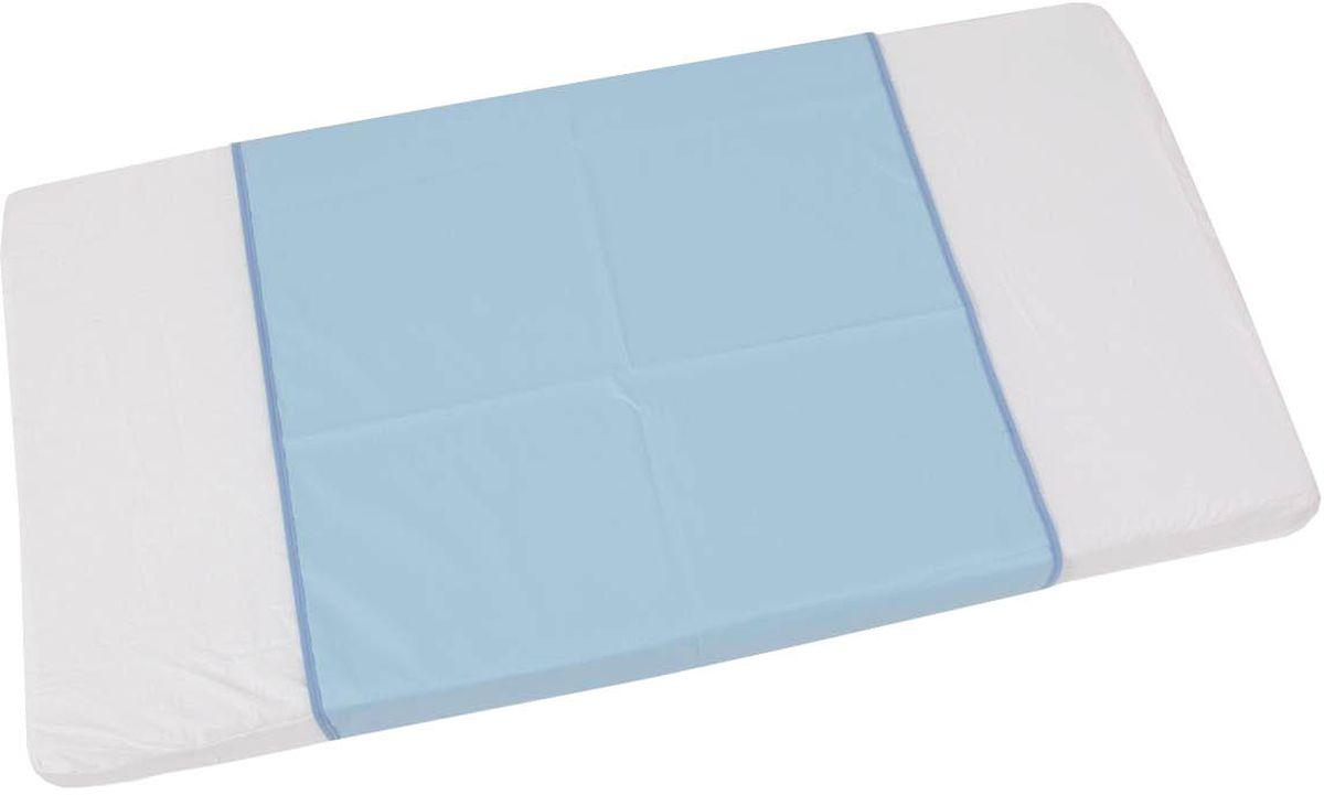 Фея Клеенка подкладная цвет голубой 68 х 100 см
