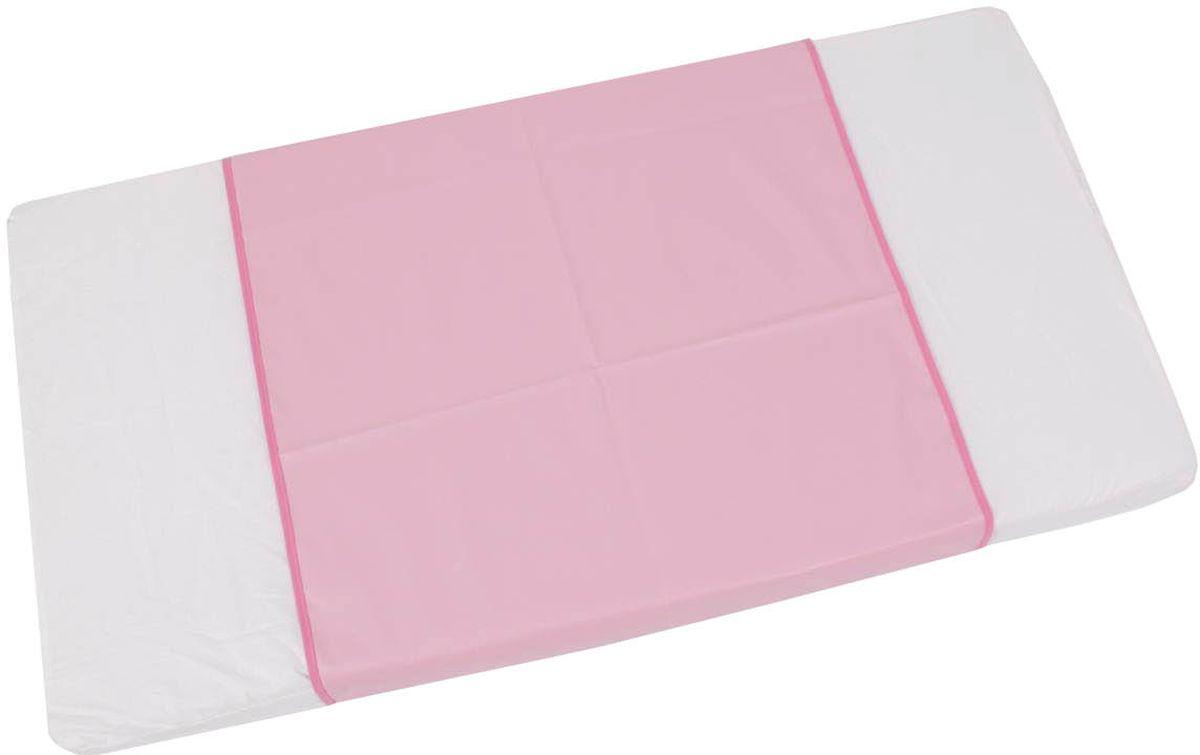 Фея Клеенка подкладная цвет розовый 68 х 100 см