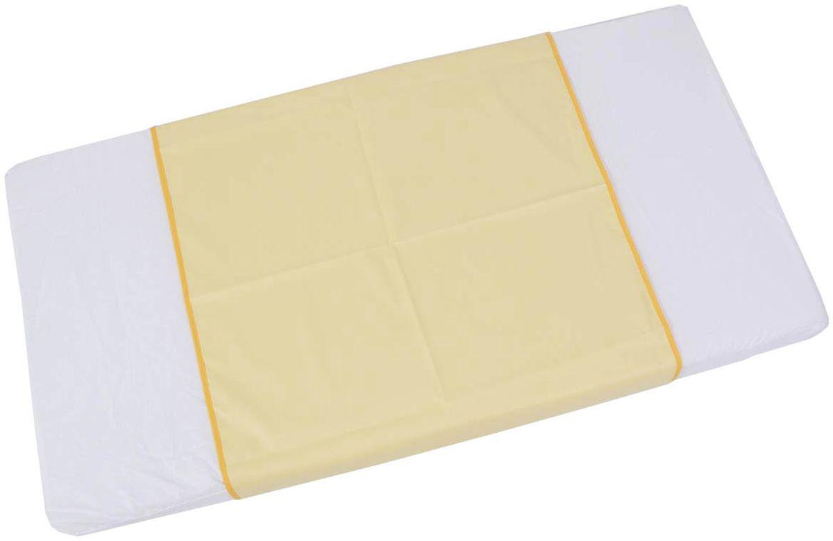 Фея Клеенка подкладная цвет желтый 68 х 100 см