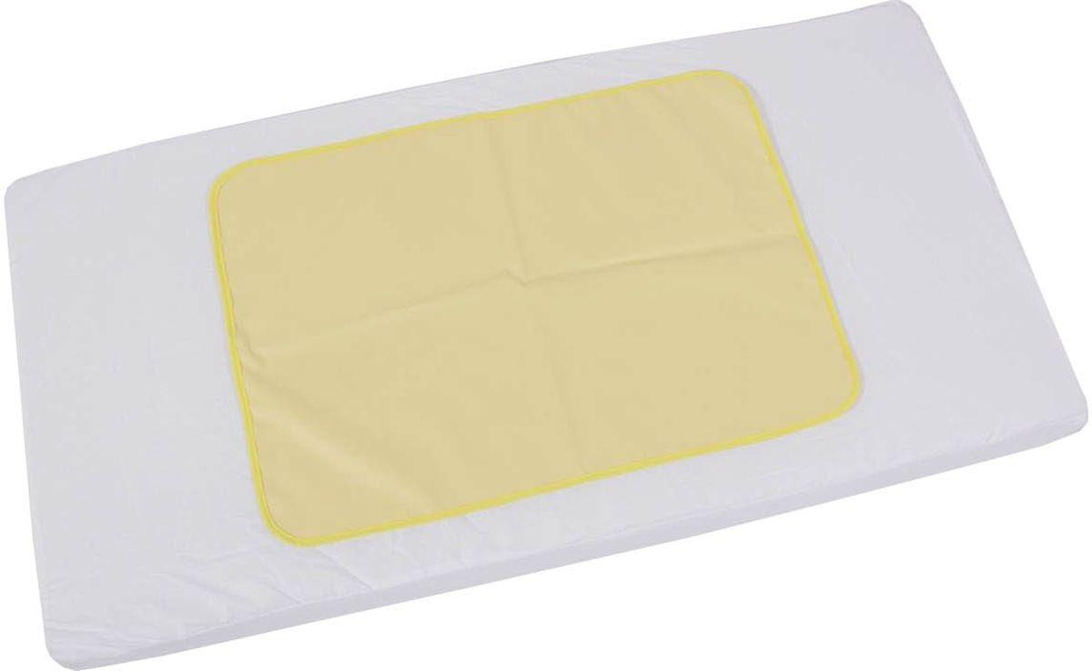 Фея Клеенка подкладная цвет желтый 48 х 68 см