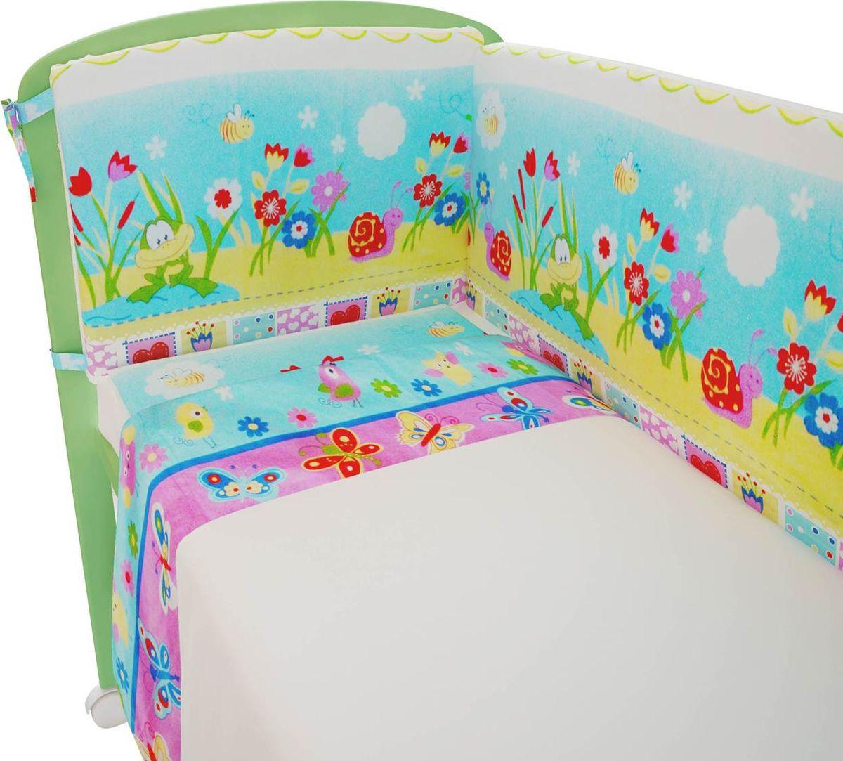 Фея Комплект белья для новорожденных Улыбка цвет белый1209