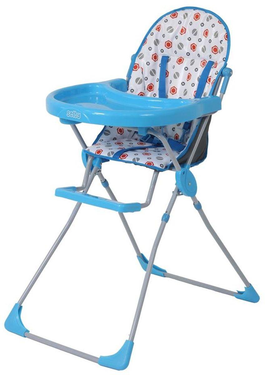 Selby Стульчик для кормления цвет голубой 5600-01