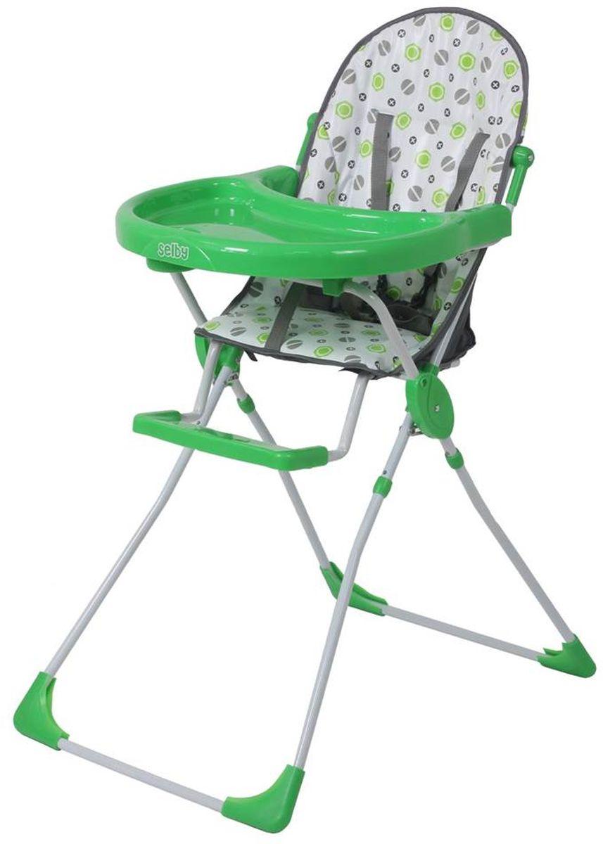 Selby Стульчик для кормления цвет зеленый 5600-05