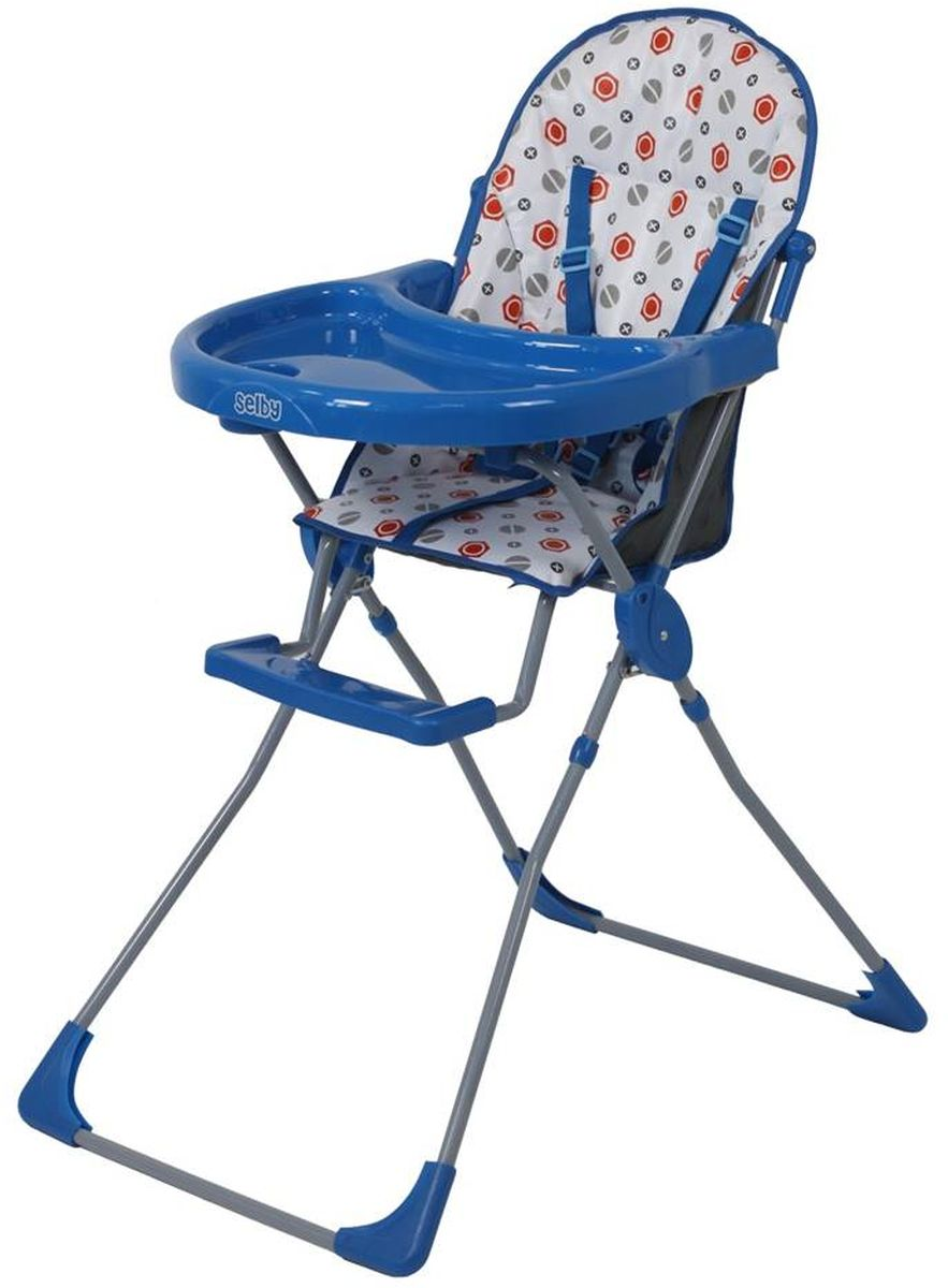 Selby Стульчик для кормления цвет синий 5600-06