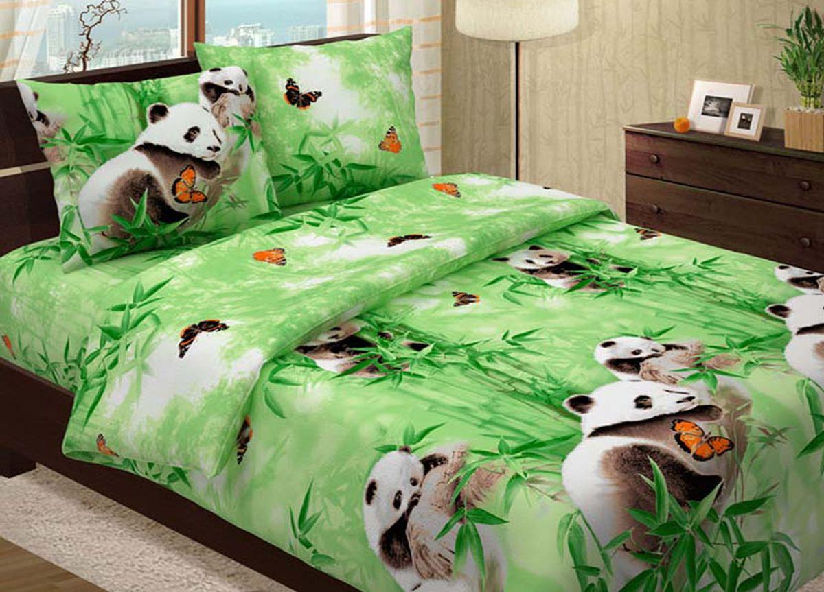 Комплект белья Primavera Панды, 1,5-спальный, наволочки 70x70K100Комплект постельного белья Primavera Панды является экологически безопасным для всей семьи, так как выполнен из высококачественного хлопка. Комплект состоит из пододеяльника на молнии, простыни и двух наволочек. Постельное белье оформлено ярким изображением панд и имеет изысканный внешний вид. Постельное белье из хлопка превращает жаркие летние ночи в прохладные и освежающие, а холодные зимние - в теплые и согревающие. Приобретая комплект постельного белья Primavera Панды, вы можете быть уверенны в том, что покупка доставит вам и вашим близким удовольствие и подарит максимальный комфорт.