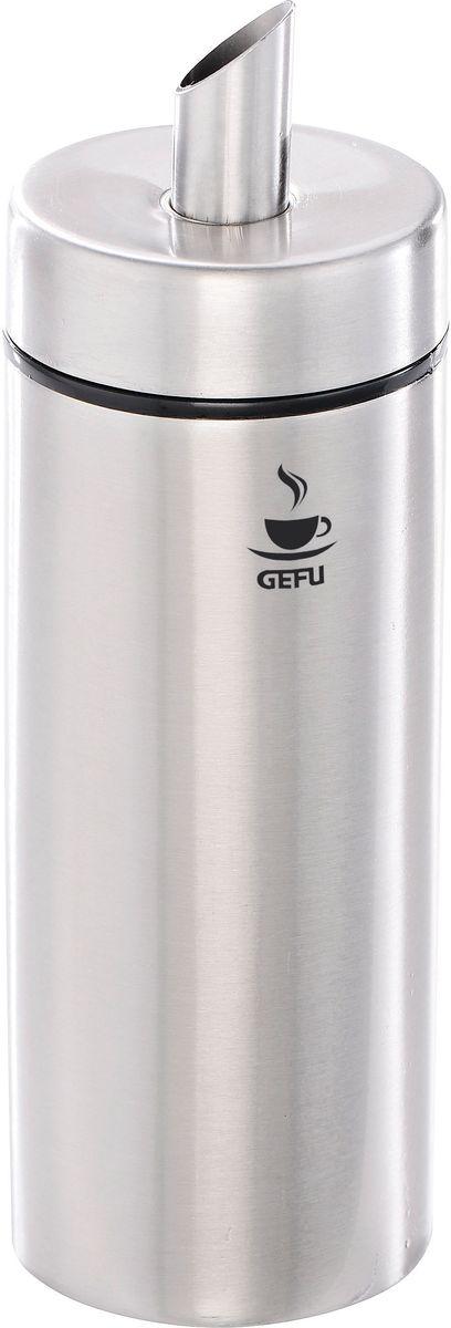 Дозатор для сахара Gefu ФинаFA-5126-2 WhiteСовременный дозатор Gefu Фина с навинчивающейся крышкой позволяет идеально дозировать сахар в напитках. Превосходная дозировка сахара! Выполнен из нержавеющей стали и пластика.
