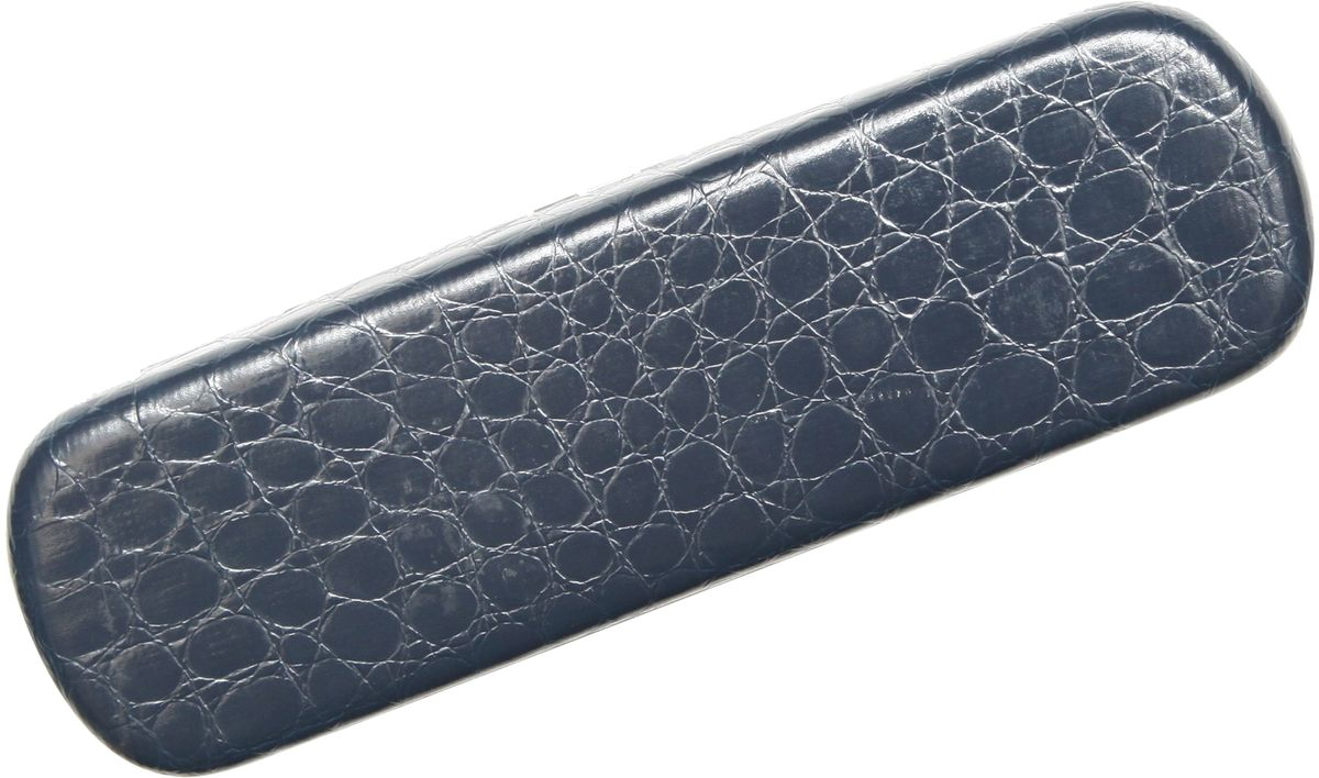 Proffi Home Футляр для очков Fabia Monti, рептилия, цвет: синийPH6733Футляр для очков сочетает в себе две основные функции: он защищает очки от механического воздействия и служит стильным аксессуаром, играющим эстетическую роль.