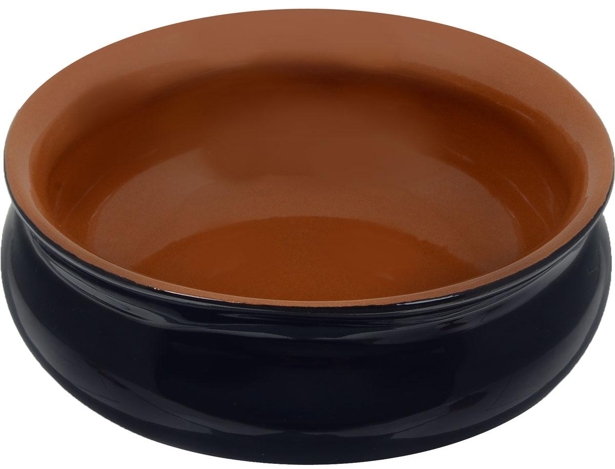 Тарелка глубокая Борисовская керамика Скифская, цвет: темно-синий, коричневый, 500 мл54 009312Глубокая тарелка Борисовская керамика Скифская выполнена из керамики. Такая тарелка подчеркнет прекрасный вкус хозяйки и станет отличным подарком. Можно использовать в духовке и микроволновой печи.Диаметр тарелки (по верхнему краю): 14 см.