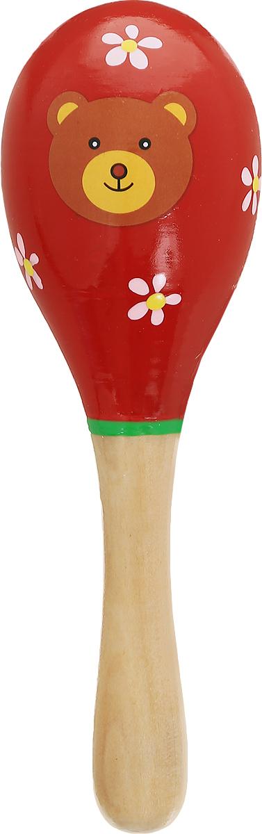 Мир деревянных игрушек Маракас Мишка