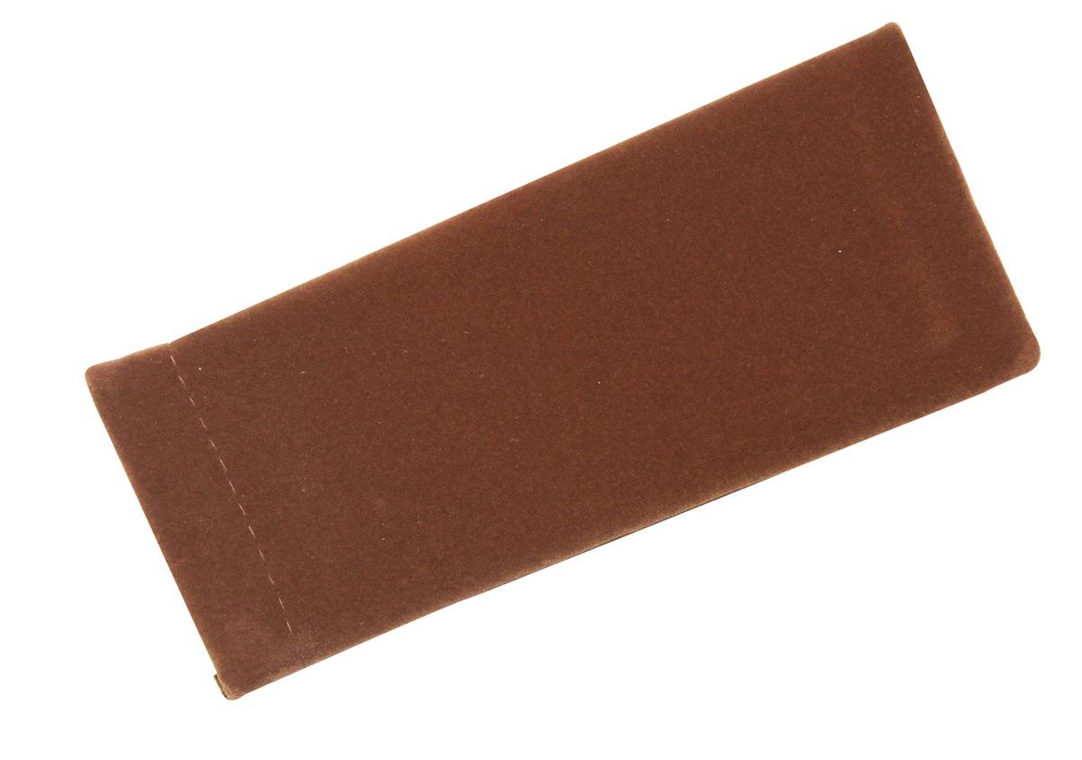 Proffi Home Футляр для очков Fabia Monti текстильный, мягкий, узкий, цвет: коричневыйперфорационные unisexФутляр для очков сочетает в себе две основные функции: он защищает очки от механического воздействия и служит стильным аксессуаром, играющим эстетическую роль.