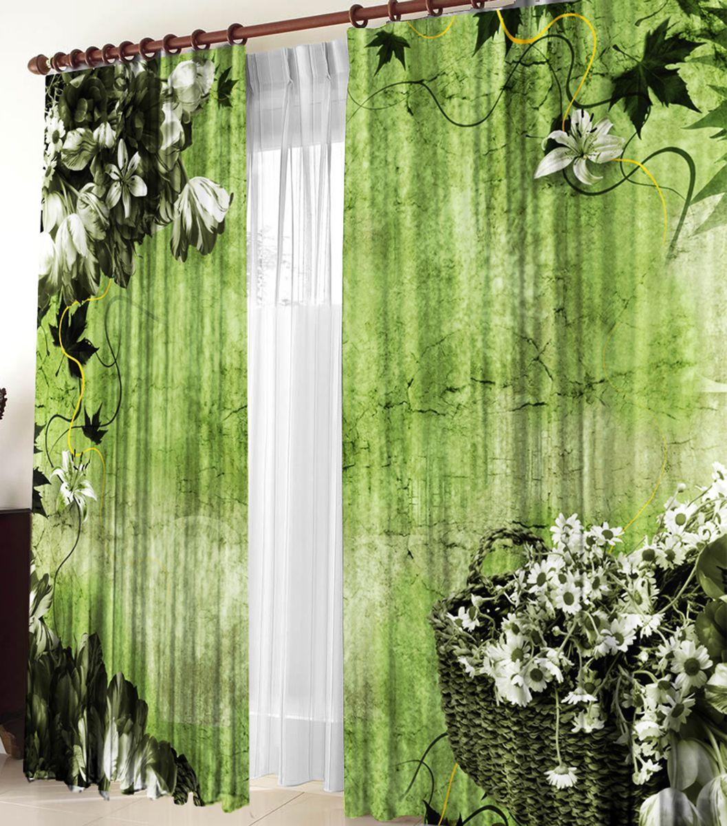 Комплект фотоштор Zlata Korunka Оливия, на ленте, высота 270 см21157Комплект фотоштор Zlata Korunka изготовлен из габардиновой ткани высочайшего качества. Фотошторы способны не пропускать самый яркий свет, их можно гладить и стирать. Рекомендации по уходу: бережная стирка при 30°С, деликатный отжим, отбеливание запрещено, гладить при температуре не более 150°С. Светопоглощение 70%. Плотность ткани: 150 г/м2. Оттенок изделия может отличаться от представленного на сайте в силу особенностей цветопередачи фототехники и вашего монитора.