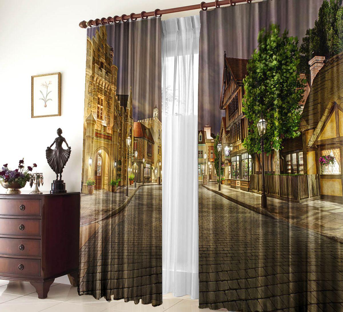 Комплект фотоштор Zlata Korunka Прага, на ленте, высота 270 см21146Фотошторы Blackout - это особый вид светонепроницаемой ткани, не выцветает, прекрасно драпируется и при этом очень хорошо сохраняет форму, отличается высокой плотностью полотна и хорошей износостойкостью, обладает высокими тепло- и звукоизоляционными свойствами.Рекомендации по уходу: бережная стирка при 30°С, деликатный отжим, отбеливание запрещено, ткань blackout не требует глажки. Светопоглощение: 100%. Оттенок изделия может отличаться от представленного на сайте в силу особенностей цветопередачи фототехники и вашего монитора.