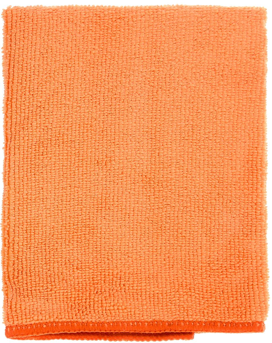Салфетка для уборки Донна Роза, универсальная, цвет: оранжевый, 30 х 30 см787502Универсальная салфетка Донна Роза, изготовленная из микрофибры (полиэстер, полиамид), прекрасно подойдет для влажной и сухой уборки. Волокна микрофибры притягивают частицы жира, пыли и грязи, поэтому салфетка легко справляется без моющих средств. Такая салфетка очищает одним движением, не оставляя разводов и следов. Не нужно протирать несколько раз, чтобы добиться чистоты! Салфетка также эффективна без воды: используйте сухую салфетку для оптики, полированных поверхностей, электроприборов и многого другого. Можно стирать 500 раз при температуре до 60°С. Не рекомендуется стирать вместе с одеждой, так как микрофибра впитает постороннюю грязь и пыль.