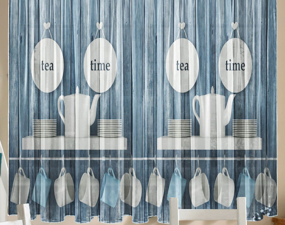 Комплект фототюлей для кухни Zlata Korunka Завтрак, на ленте, высота 160 см21244Фототюль - это новинка в мире фотоштор. Для производства используется шифоновая ткань высочайшего качества. Уход: Бережная стирка при 30 градусах, деликатный отжим, отбеливание запрещено. Комплектация и размер: 2 полотна (каждое – шир.145 х выс.160) соединенных поверху, одной шторной лентой. Оттенок изделия может отличаться от представленного на сайте в силу особенностей цветопередачи фототехники и Вашего монитора.