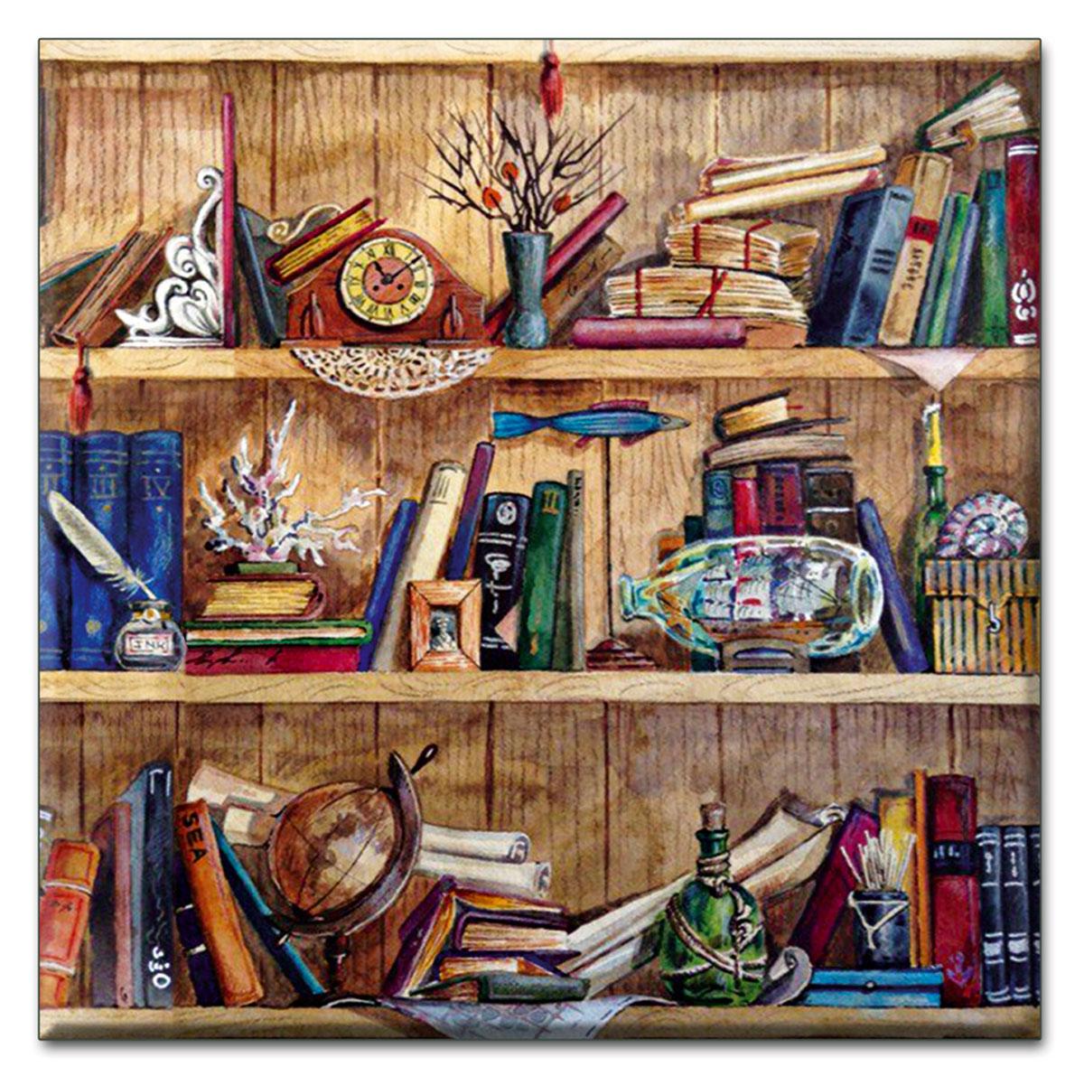 Подставка под кружку Magic Home, 9,3 х 9,3 см. 43418115510Оригинальная подставка под кружку Magic Home, выполненная из керамики, займет достойное место среди аксессаров на любой кухне.Каждая хозяйка знает, что подставка под горячее - это незаменимый и очень полезный аксессуар на каждой кухне. Такая подставка не только украсит ваш стол, но и сбережет его от воздействия высоких температур.