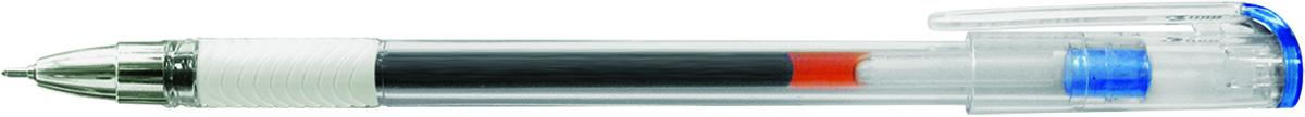 Berlingo Ручка гелевая Standard синяя72523WDГелевая ручка Berlingo Standard с колпачком и пластиковым клипом. Имеет игольчатый стержень и прозрачный корпус, который позволяет контролировать расход чернил. Грип мягкий резиновый с рифлением в зоне захвата, препятствует скольжению пальцев при письме. Качественные чернила обеспечивают чёткое и ровное письмо. Диаметр пишущего узла - 0,5 мм.
