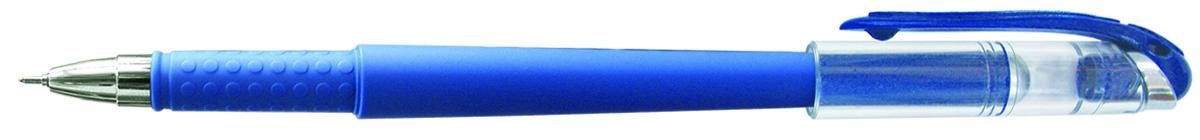 Berlingo Ручка гелевая Ultra синяя000138_голубойЛаконичная гелевая ручка Berlingo Ultra с колпачком и клипомимеет стильный дизайн.Цвет корпуса соответствует цвету чернил. Диаметр пишущего узла - 0,5 мм.
