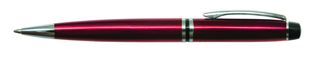 Berlingo Ручка шариковая Silk Prestige цвет корпуса бордовый41545Автоматическая шариковая ручка Berlingo Silk Prestige с поворотным механизмом имеет оригинальный дизайн кольца. Цвет чернил - синий. Подходит для нанесения логотипа. Ручка упакована в индивидуальный пластиковый футляр.