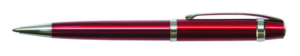 Berlingo Ручка шариковая Velvet Classic цвет корпуса бордовый90609Оригинальная автоматическая шариковая ручка Berlingo Velvet Classic с поворотным механизмом. Оригинальные насечки на кольце и в зоне клипа придают ручке эксклюзивный вид. Цвет чернил - синий. Диаметр пишущего узла - 0,7 мм. Подходит для нанесения логотипа. Ручка упакована в индивидуальный пластиковый футляр.