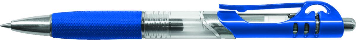Berlingo Ручка гелевая MP Gel цвет чернил синий CGm_500522010440Гелевая ручка Berlingo MP Gel с клипом имеет мягкий резиновый грип для комфортного письма.Кнопочная подача стержня. Стильный дизайн корпуса. Цвет деталей корпуса соответствует цвету чернил. Толщина пишущего узла - 0,5 мм. Цвет чернил - синий.