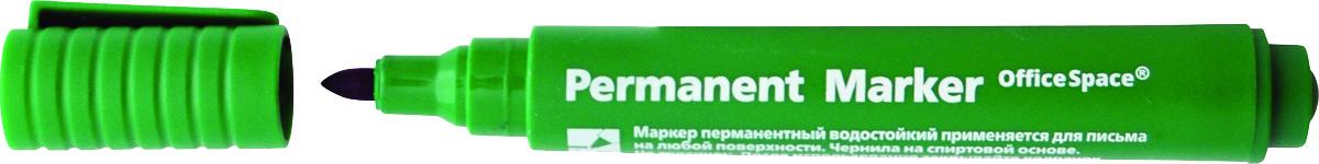 OfficeSpace Маркер перманентный цвет зеленый730396Перманентный маркер OfficeSpace подходит для письма на любых поверхностях. Чернила на спиртовой основе. Плотный колпачок с клипом надежно предотвращает высыхание. Цвет колпачка соответствует цвету чернил. Пулевидный пишущий узел. Ширина линии 2 мм.