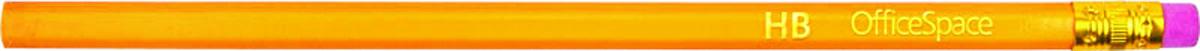 OfficeSpace Набор чернографитных карандашей с ластиком 12 шт BLSP_157C13S041944Набор чернографитных карандашей OfficeSpace состоит из 12 карандашей с ластиком в незаточенном виде. Чернографитный карандаш изготовлен из натурального дерева. Предназначен для чертежных и художественных работ. Отлично подойдут для занятий графикой.