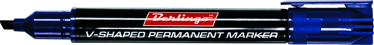 Berlingo Маркер перманентный цвет синий BMc_04602BTt_40109Перманентный маркер Berlingo подходит для письма на любых поверхностях. Чернила на спиртовой основе. Плотный колпачок с клипом надежно предотвращает высыхание. Цвет колпачка соответствует цвету чернил. Клиновидный пишущий узел. Ширина линии варьируется от 0,5 до 4 мм. Длина непрерывной линии - 500 м.