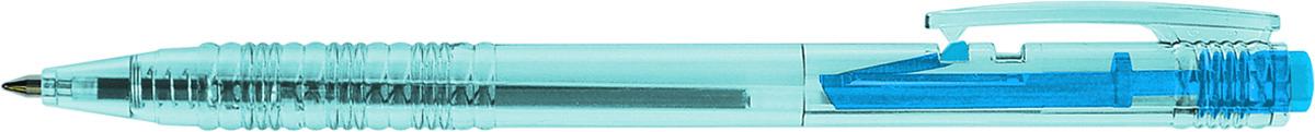 Berlingo Шариковая ручка B-1 цвет чернил синийCPs_70410Шариковая ручка с пластиковым клипом Berlingo B-1 - незаменимый предмет на любом рабочем столе. Удобный прозрачный корпус с рифлением в зоне захвата препятствует скольжению пальцев при письме и позволяет контролировать расход чернил. Диаметр пишущего узла - 0,7 мм. Кнопочная подача стержня.