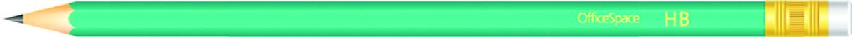 OfficeSpace Набор чернографитных карандашей с ластиком 12 шт PLPe_2813/191028PLPe_2813/191028Набор чернографитных карандашей OfficeSpace с ластиком предназначен для чертежных и графических работ. Карандаш комплектуется ластиком. В комплекте 12 карандашей.