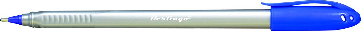 Berlingo Ручка шариковая Triangle Silver цвет синий72523WDОдноразовая шариковая ручка Triangle Silver с колпачком и пластиковым клипом. Цвет корпуса - серебристый, цвет деталей соответствует цвету чернил. Диаметр пишущего узла 1,0 мм. Цвет чернил - синий. Упаковка в картонную коробку по 12 шт.